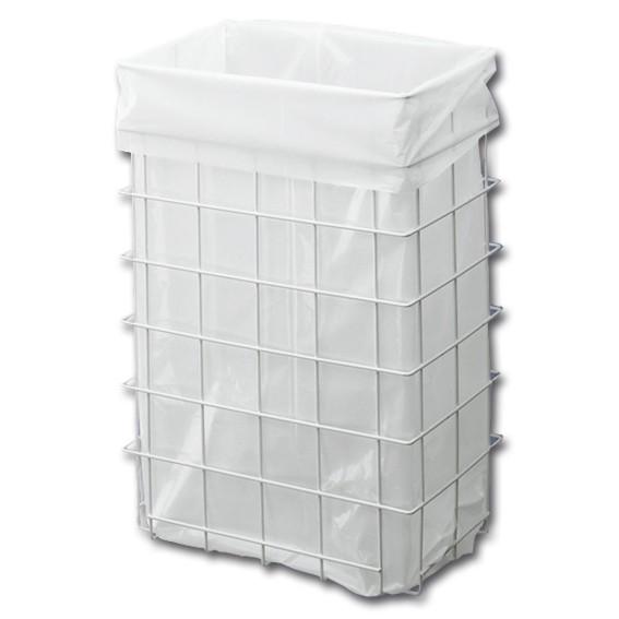 INGO-MAN - 18-60 l - weiß - Abfallkorb