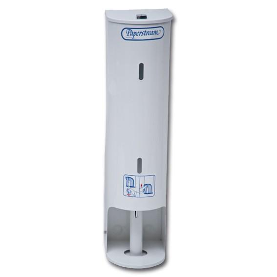 PAPERSTREAM - für 5 Rollen verschließbarer robuster Toilettenpapierspender
