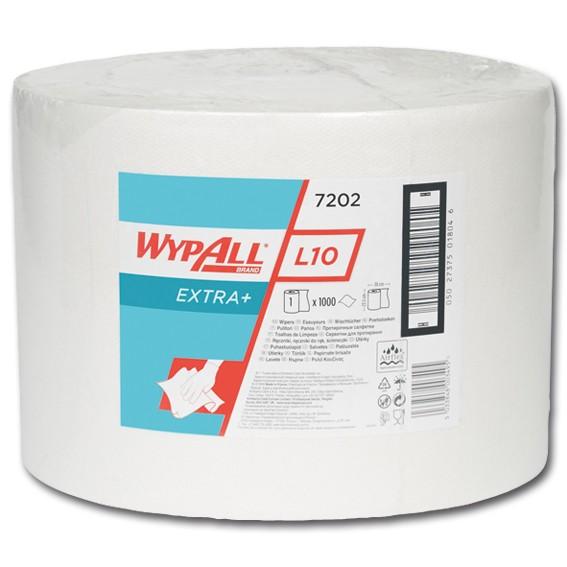 K.C. WYPALL L10 7202 - 380 m / 24 cm x 38 cm perforiert -1-lagig - weiß - Wischtücher