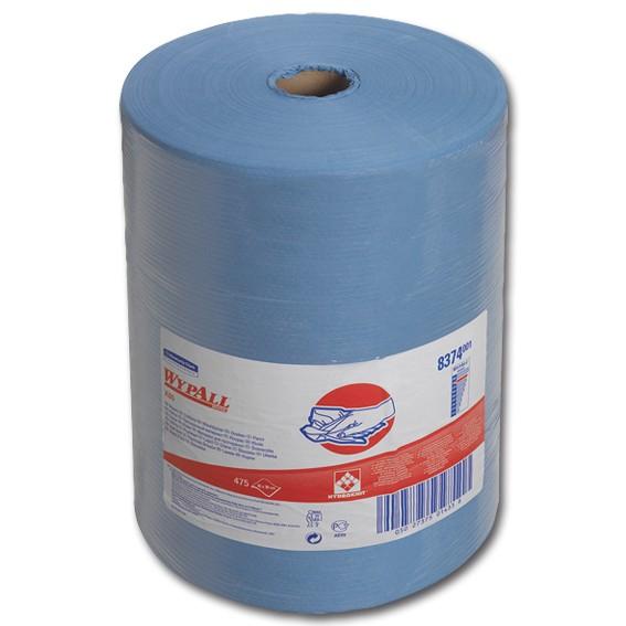 K.C. WYPALL X80 8374 - 180 m / 420 cm x 38 cm perforiert -1-lagig - blau - Wischtücher