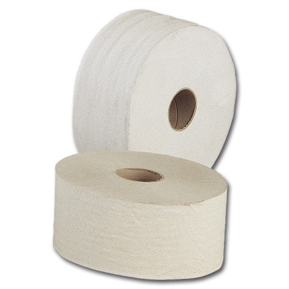 Toilettenpapier-Großrolle - 2-lagig - perforiert