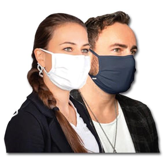 HAKRO 2603 mit Metallclip-Nasenbügel - Mund-Nasen-Maske Mischgewebe