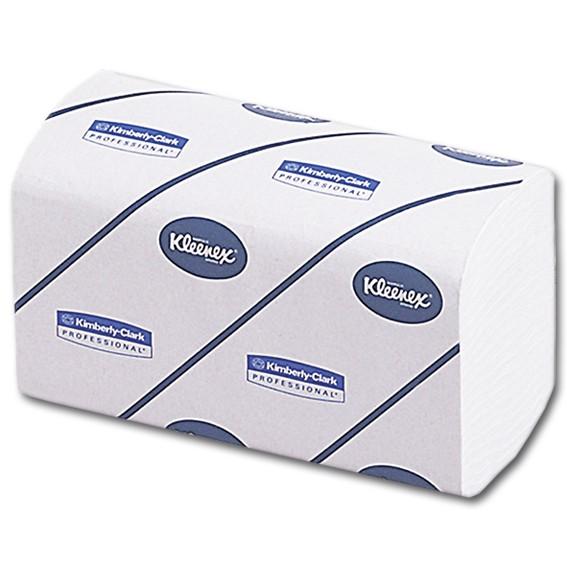KLEENEX ULTRA 6789 - 21,5 x 21 cm -2-lagig - weiß - Papierhandtücher