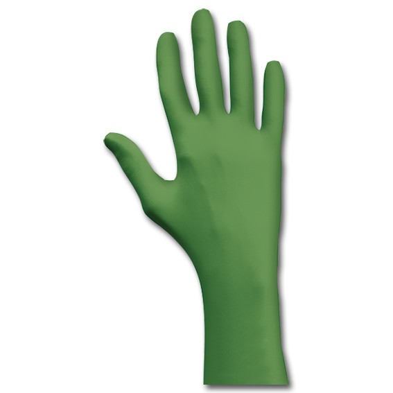 SHOWA 6110 PF EBT - Einmalschutzhandschuhe grün
