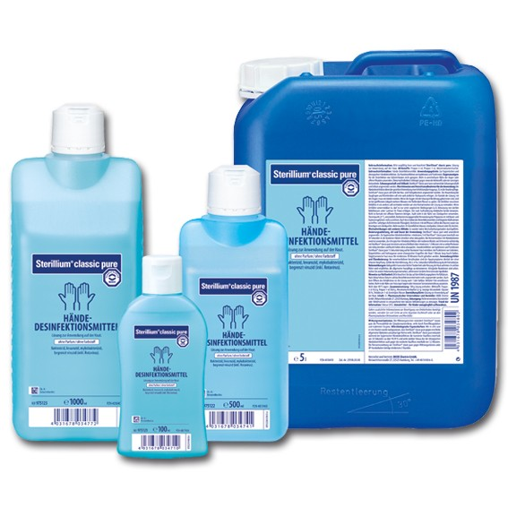 STERILLIUM classic pure parfümfrei - Hautdesinfektionsmittel