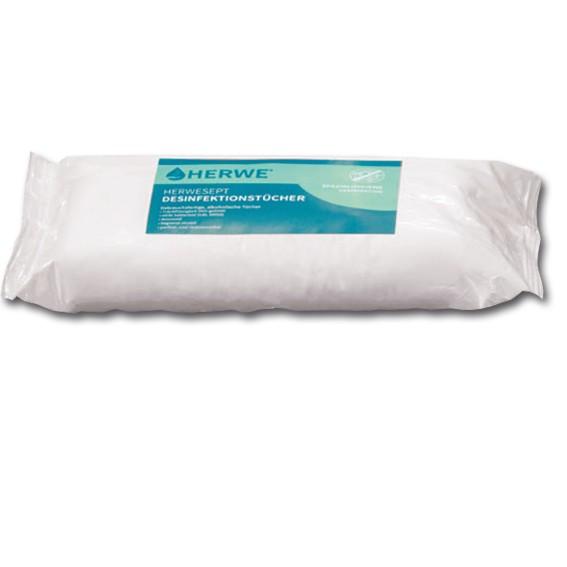HERWESEPT - Desinfektionstücher Nachfüllpackungen