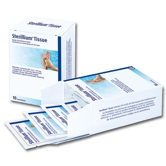 STERILLIUM TISSUE - Händedesinfektionsmittel