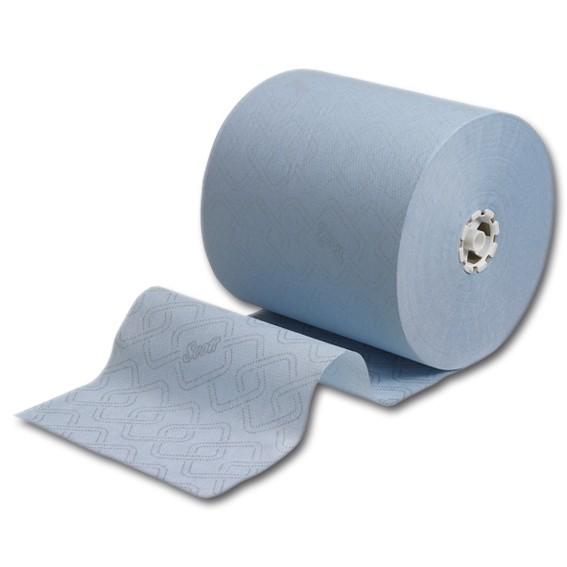 SCOTT ESSENTIAL 6692 - 350 m/19,8 cm - 1-lagig - blau - Papierhandtuchrolle