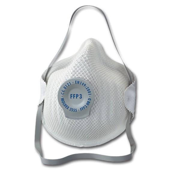 MOLDEX 2555 FFP3 NR D - Atemschutzmaske mit Klimaventil